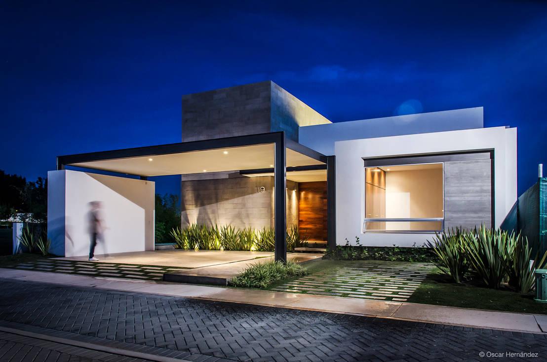 O que deve saber sobre portas de madeira para casas modernas - Case moderne foto ...