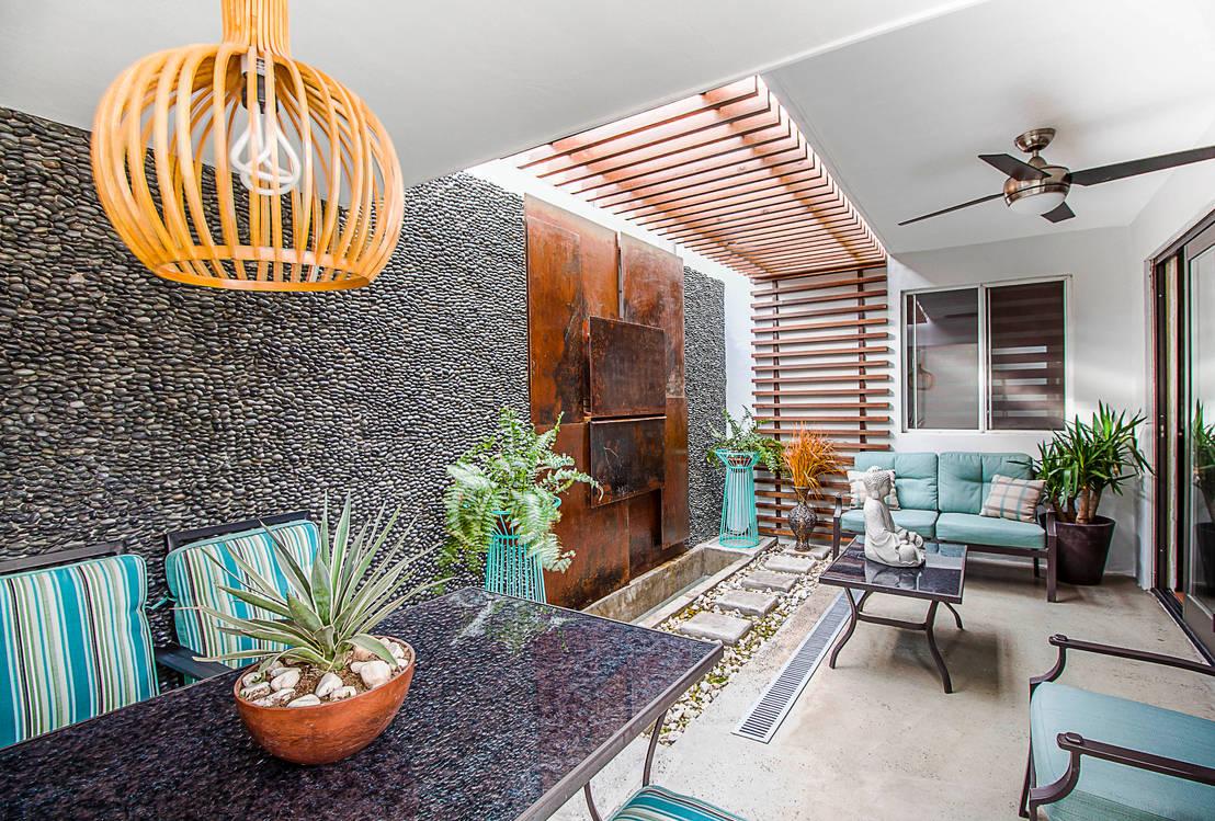 Las 10 mejores plantas de interior para casas modernas for Diseno de jardines interiores modernos