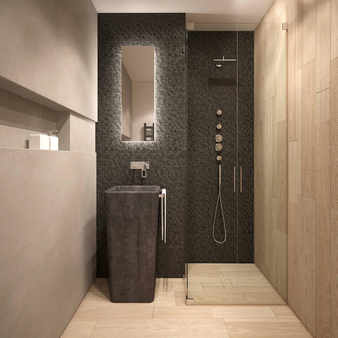 Baño Pequeno Alargado:Cómo decorar un baño alargado y estrecho?