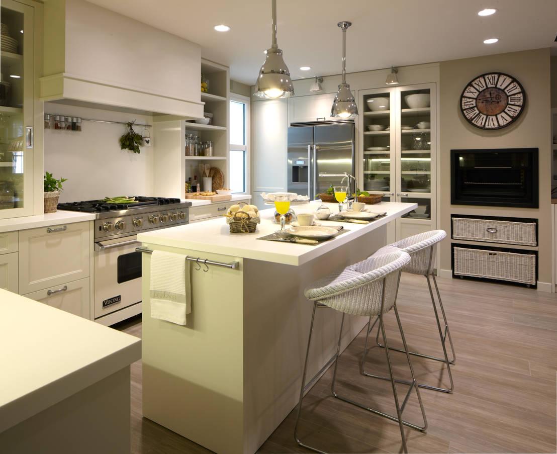 10 trucos para optimizar el espacio en una vivienda for Cocinas amplias con isla