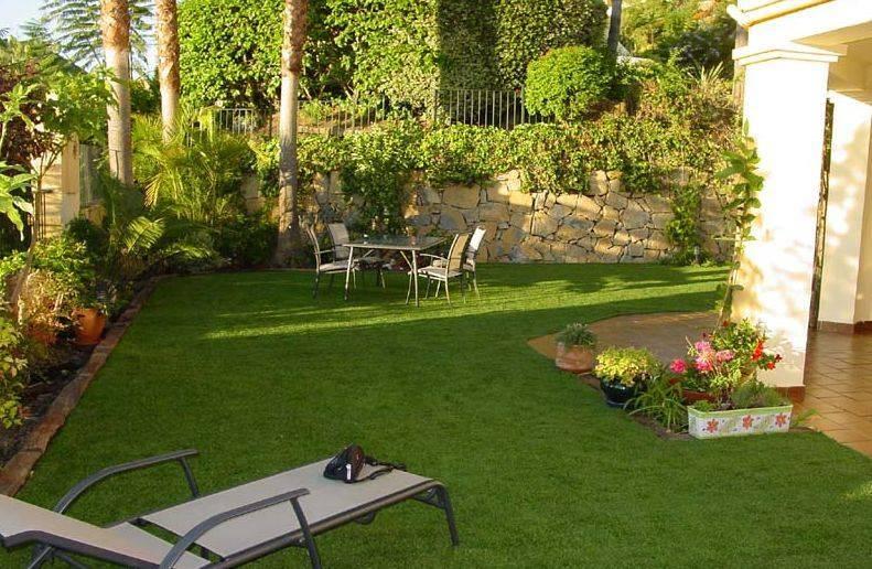 Seis b sicos en decoraci n de jardines for Decoracion para jardines exteriores