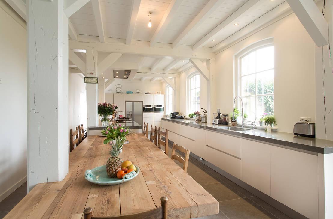 Elementen om te behouden tijdens het renoveren van een oud huis - Hoe een keuken te verlichten ...