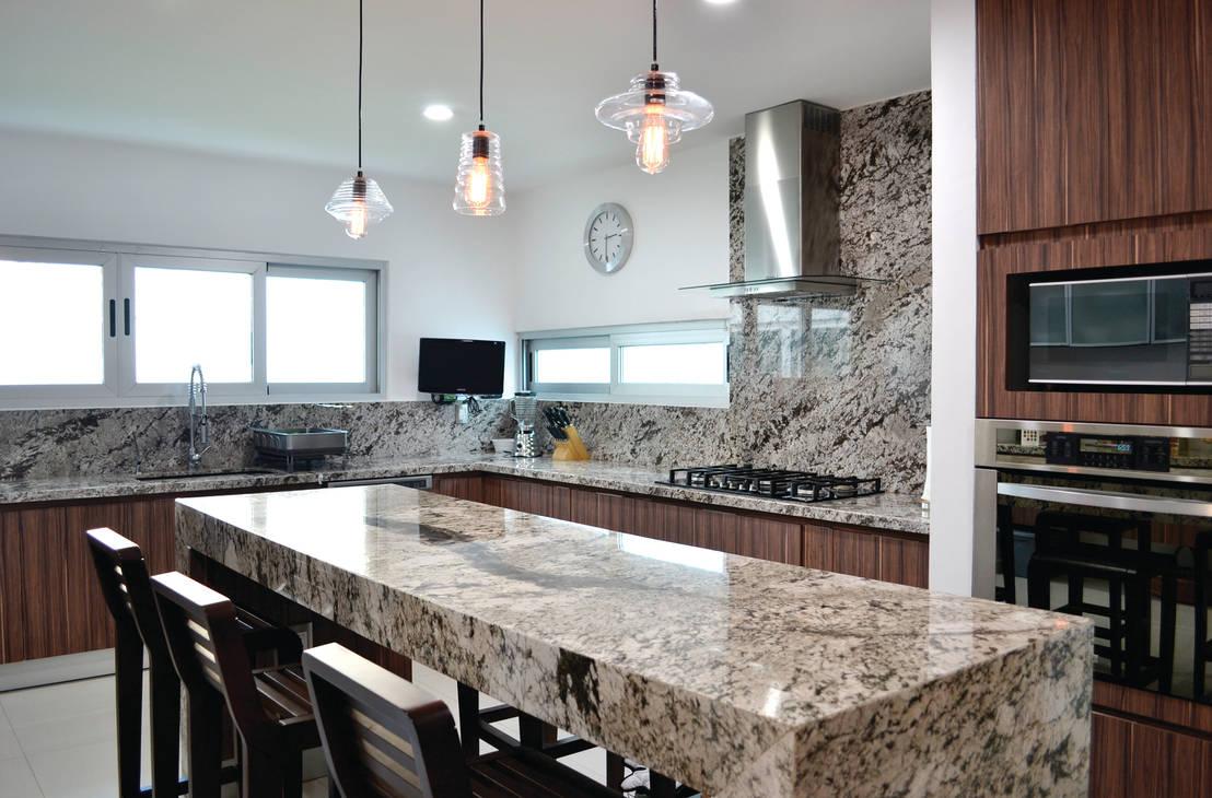 Las mejores y m s elegantes mesadas de piedra para tu cocina for Materiales para mesones de cocina