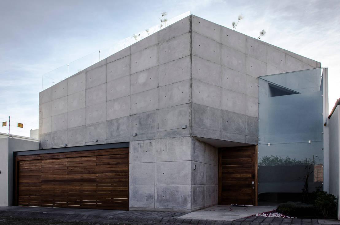 verblueffendes betonhaus als familiendomizil