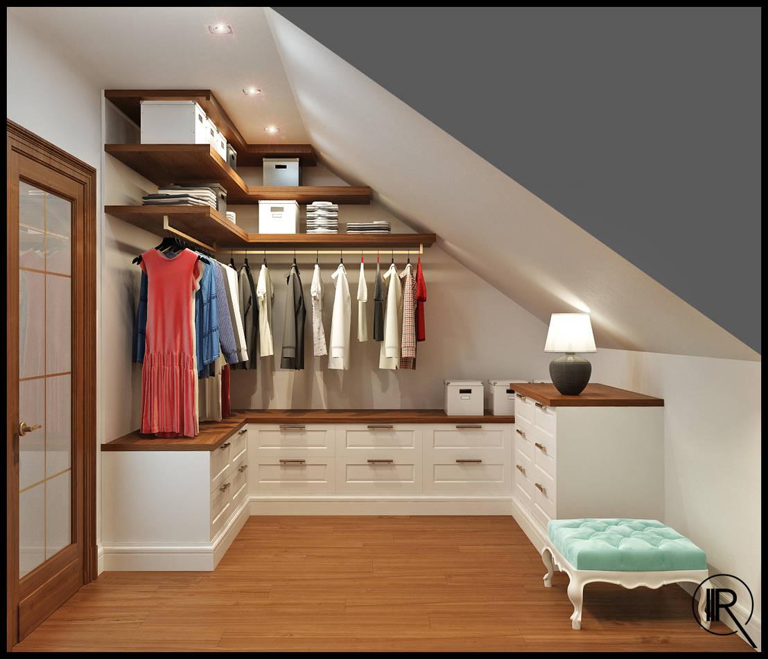 6 ideas de armarios y vestidores para espacios peque os - Armarios espacios pequenos ...