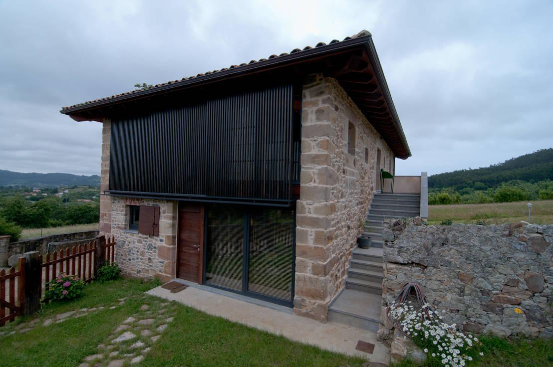 Una casa rural moderna y muy sofisticada - Casa rural de madera ...