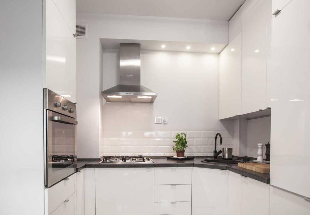 10 pomysłów na projekt małej kuchni! -> Funkcjonalna Kuchnia Zdjecia