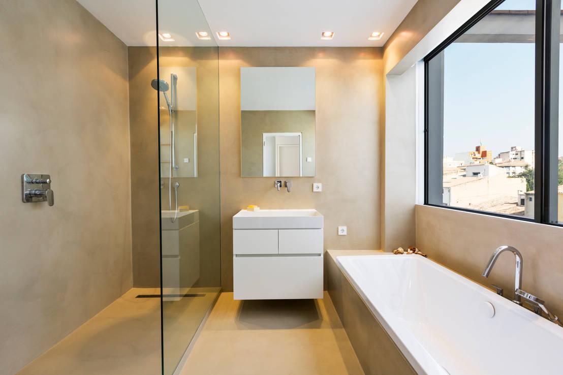Hoe haal je alles uit je kleine badkamer - Hoe amenager een kleine badkamer ...