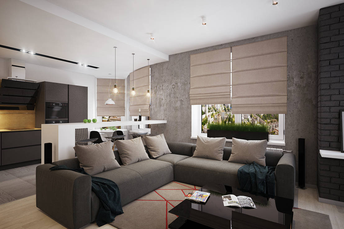 Como decorar uma sala com menos de 10 metros quadrados for Sala de 9 metros quadrados