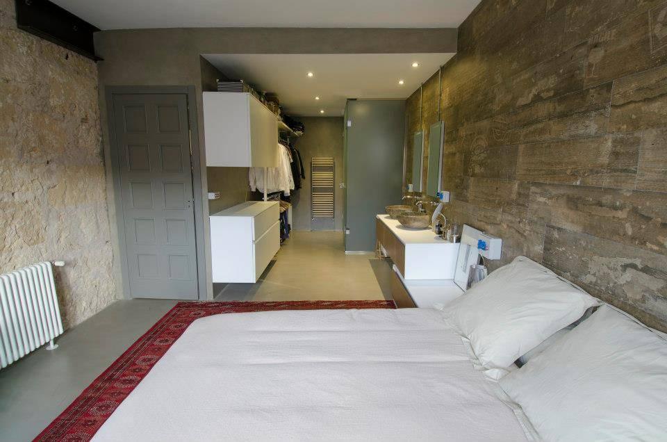 Dormitorios con ba o incorporado 8 dise os modernos Diseno de una habitacion con bano