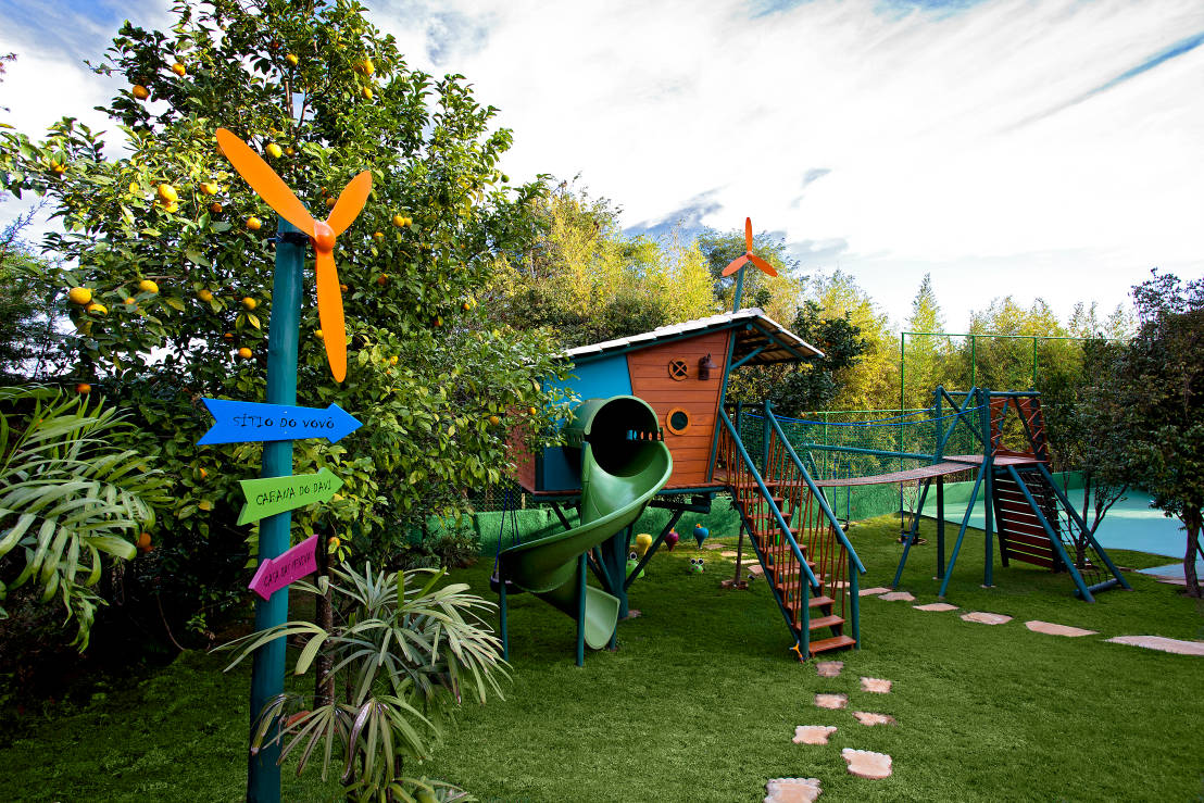 7 ideas for a child friendly garden for Kid friendly garden design ideas