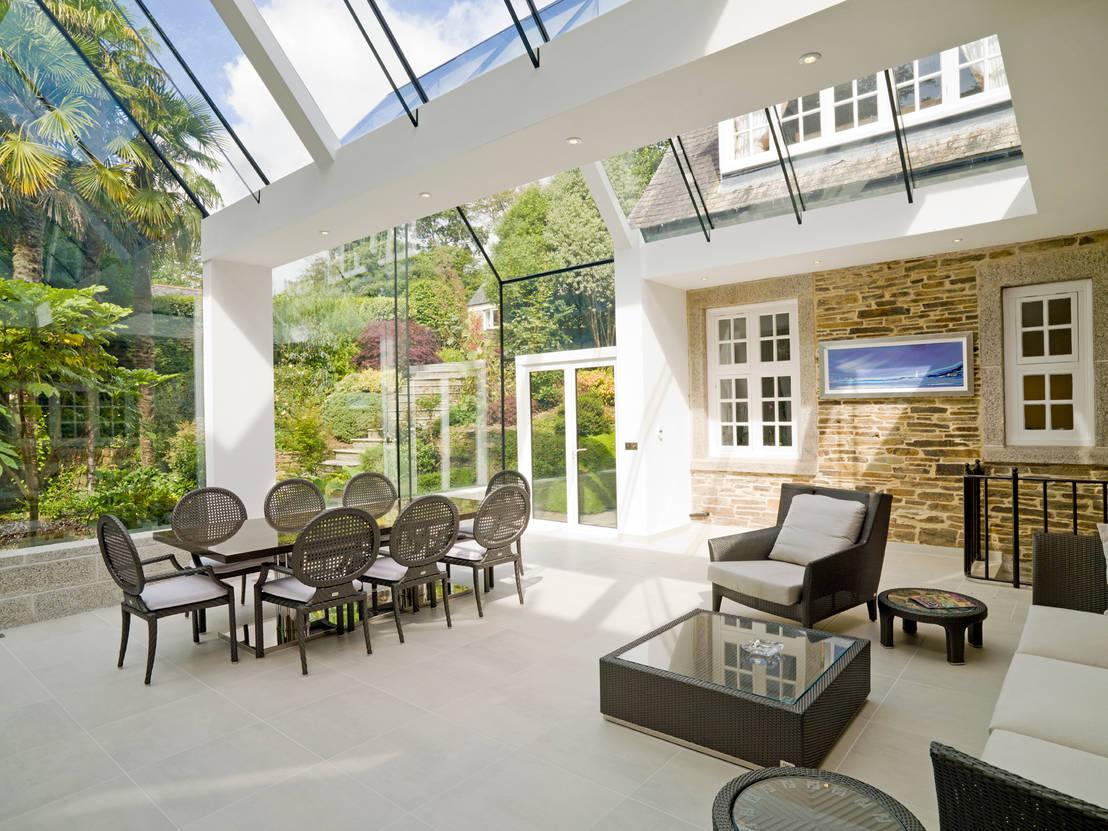 7 terrazas cerradas para disfrutar todo el a o for Imagenes de techados