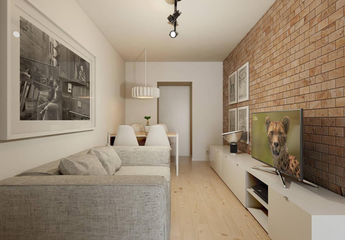 apartamento pequeno mas super funcional. Black Bedroom Furniture Sets. Home Design Ideas
