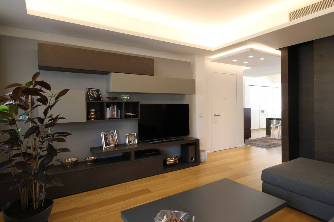 Un appartamento incredibilmente moderno nel cuore di palermo for Immagini soggiorni
