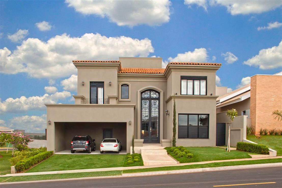 Una casa moderna y elegante for Ambientes de una casa moderna