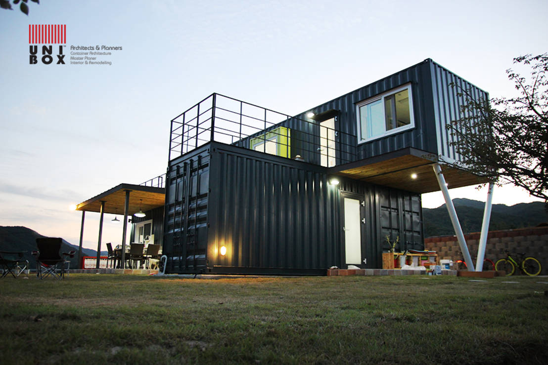 A different way of living 6 low budget container houses for Maison low cost container