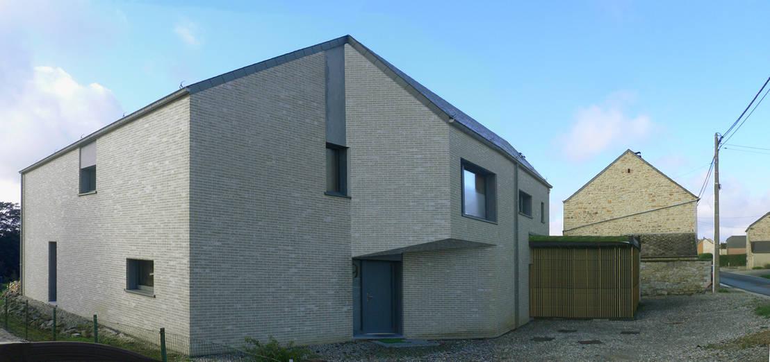 Une incroyable maison en croissant de lune - Incroyable maison monolithique en suisse ...
