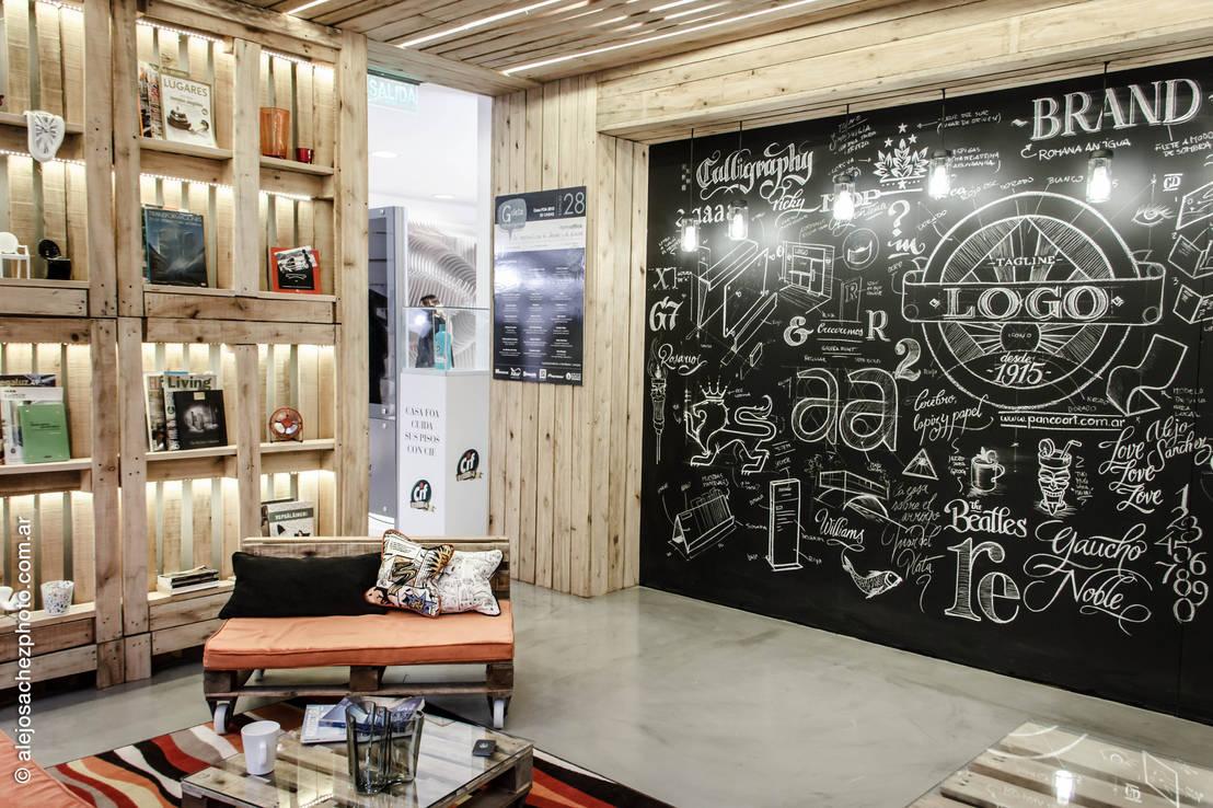 Un interior reciclado pero como nuevo for Estilos de oficinas