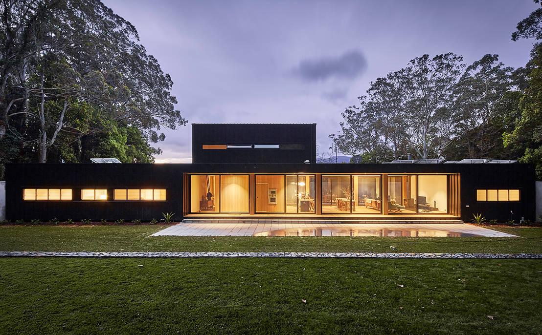 Une magnifique maison modulaire for Synonyme de architecture
