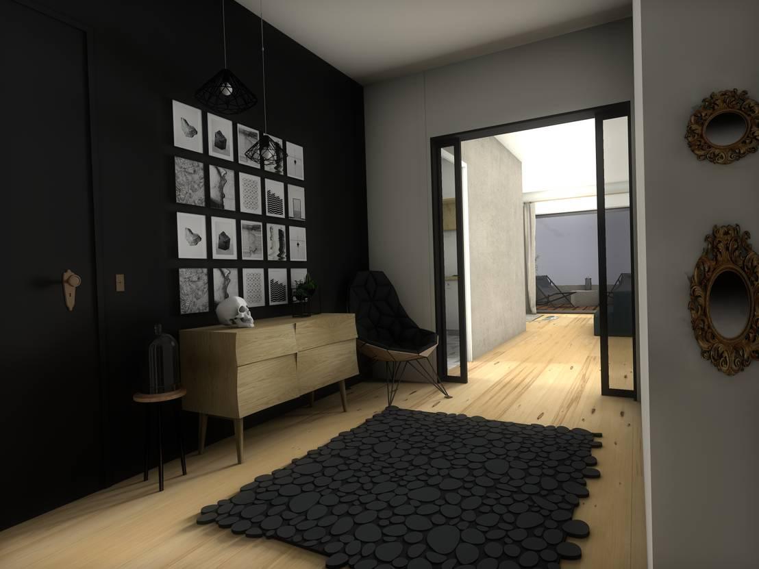 am nagement int rieur par dem design homify. Black Bedroom Furniture Sets. Home Design Ideas