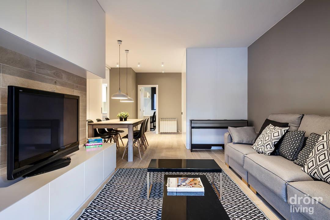 chic und stylish wohnen auf 90 quadratmetern. Black Bedroom Furniture Sets. Home Design Ideas