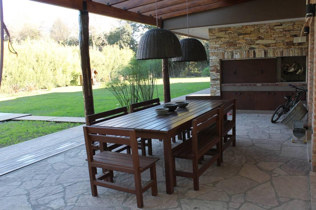 7 quinchos r sticos y absolutamente hogare os for Muebles jardin modernos