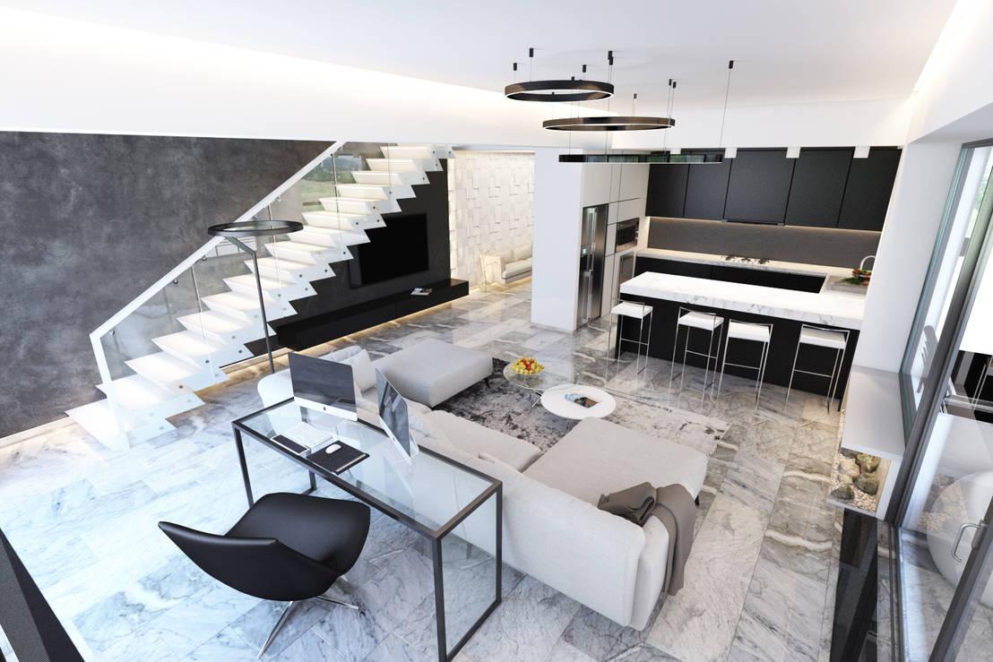 Un appartamento minimal il trionfo dell 39 eleganza for Un aiuola dell appartamento