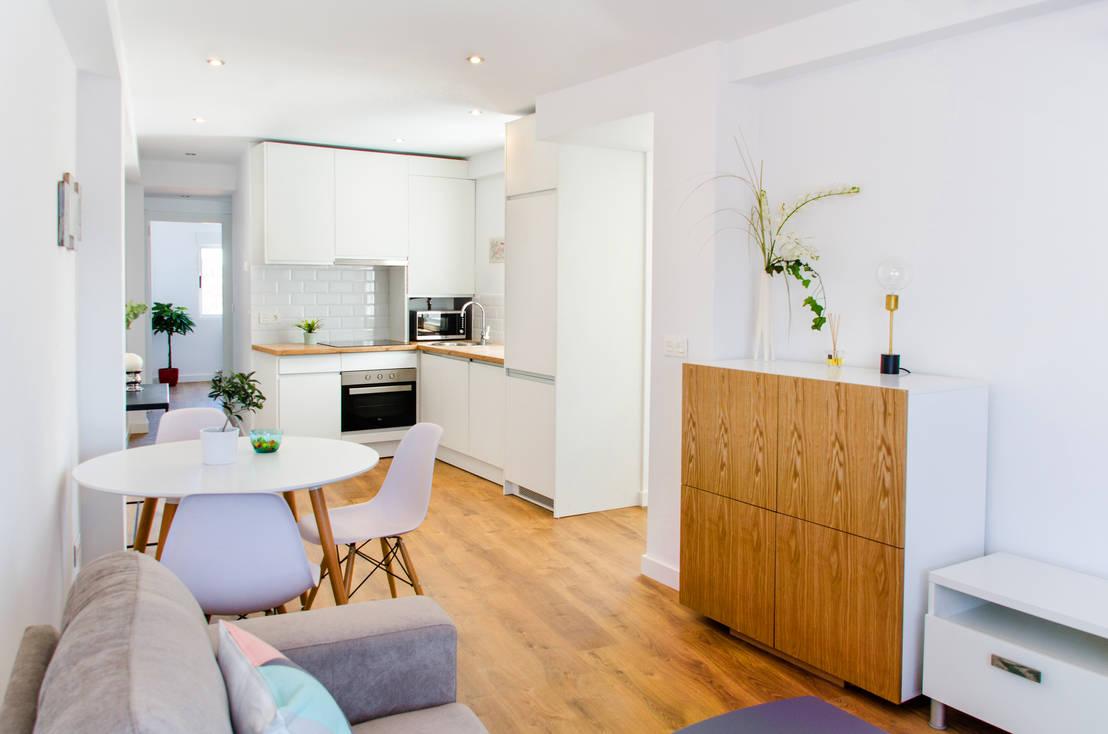 Scegli il materiale ideale per il pavimento di casa tua for Cocinas abiertas al pasillo