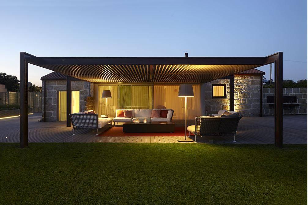 Exteriores de puro conforto for Casas contemporaneas de una planta