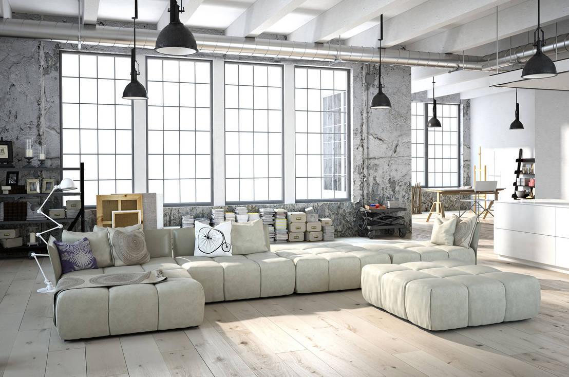9 spektakuläre Wohnzimmer Ideen