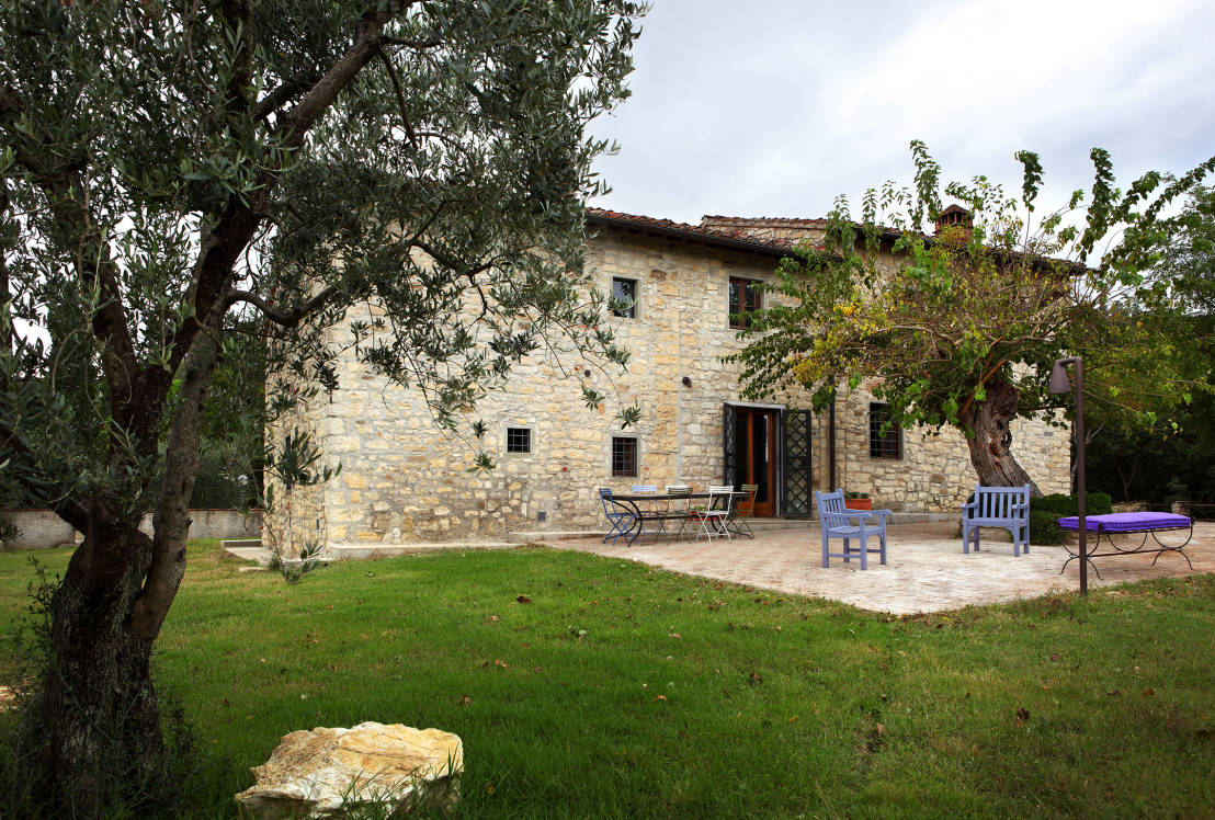 Una casa para so ar en la toscana for La pietra tradizionale casa santorini