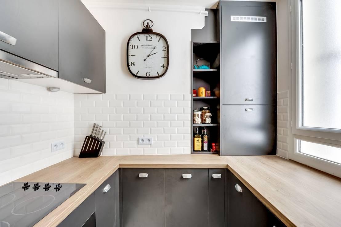 Aménagement moderne pour les petites cuisines.!!