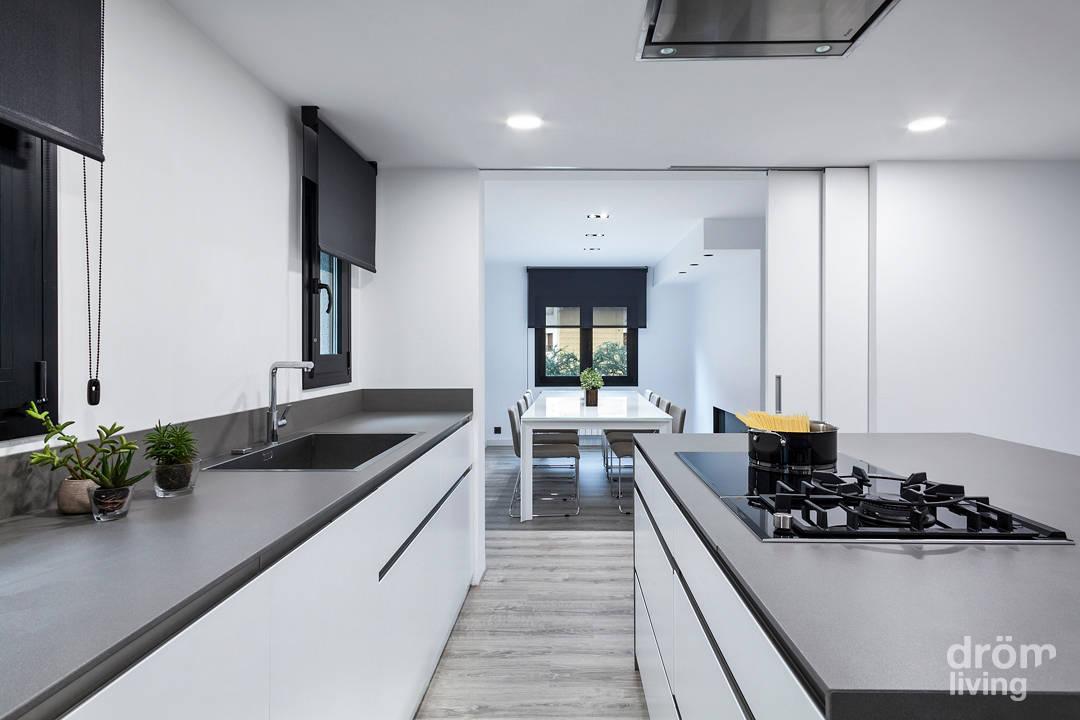 una casa minimalista pero acogedora