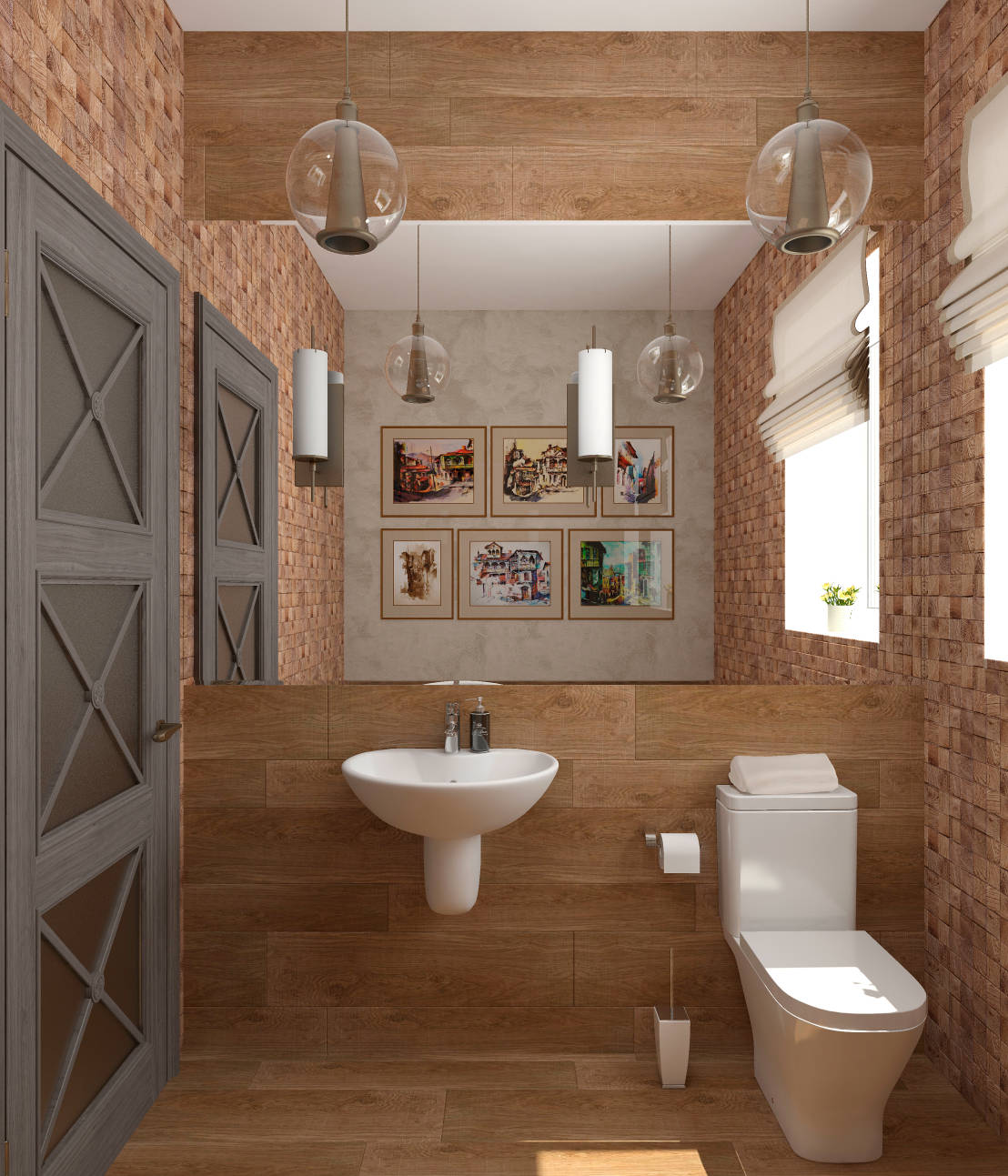 7 tips for small but beautiful bathrooms for Small but beautiful bathrooms