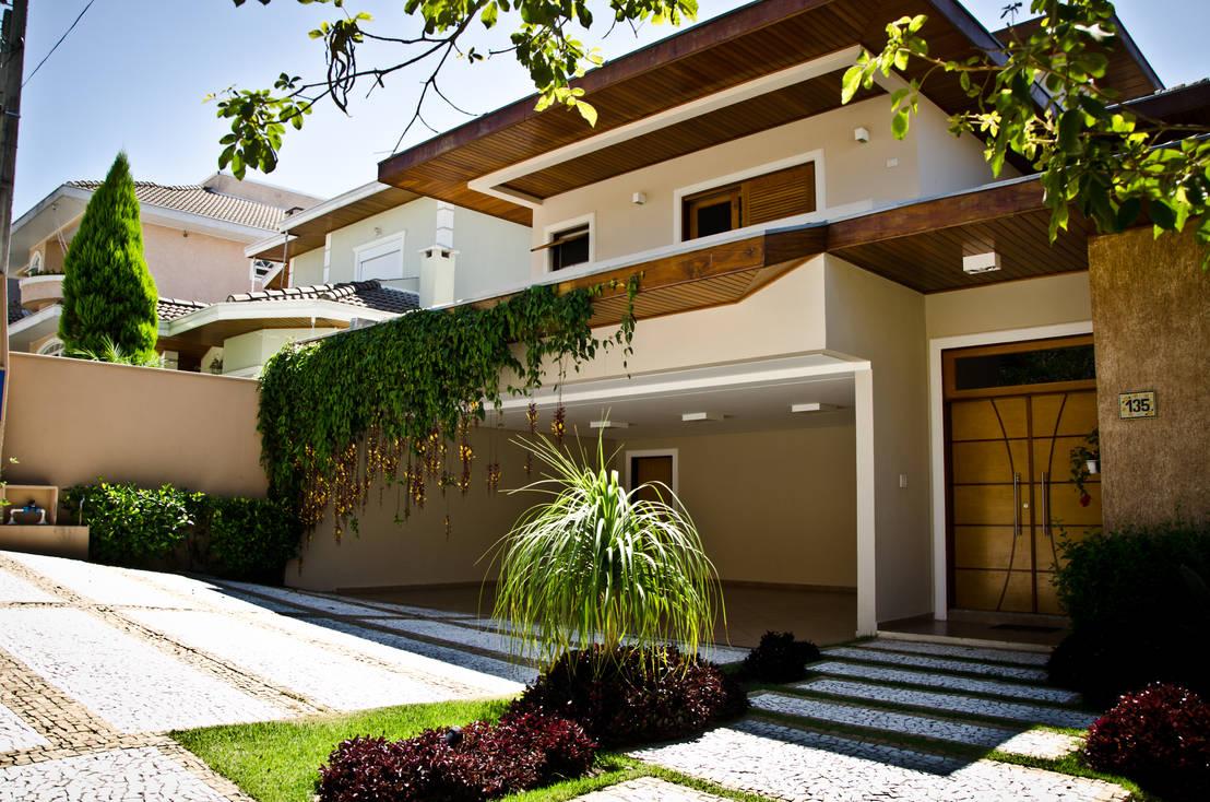 33 ideas para que la entrada de tu casa se vea fabulosa for Renovar fachadas de casas