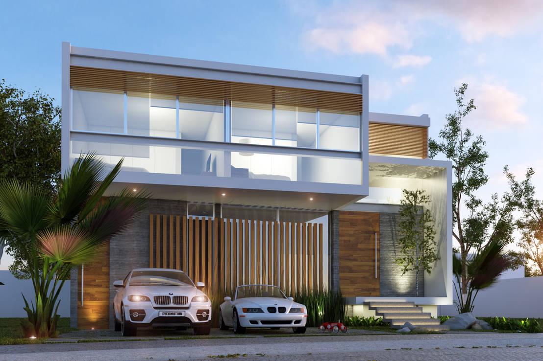 20 fachadas en 3d que debes ver para dise ar la casa de - Disenar casas 3d ...