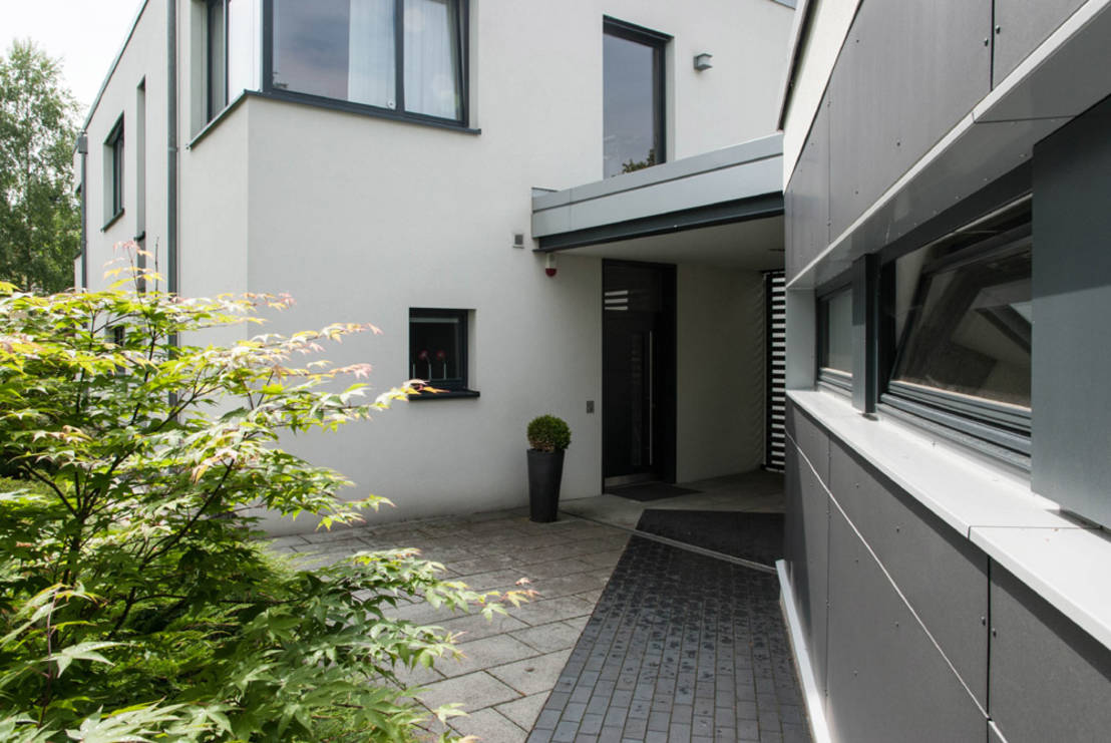 Une maison familiale moderne aux d tails surprenants - Creer style minimaliste maison familiale ...