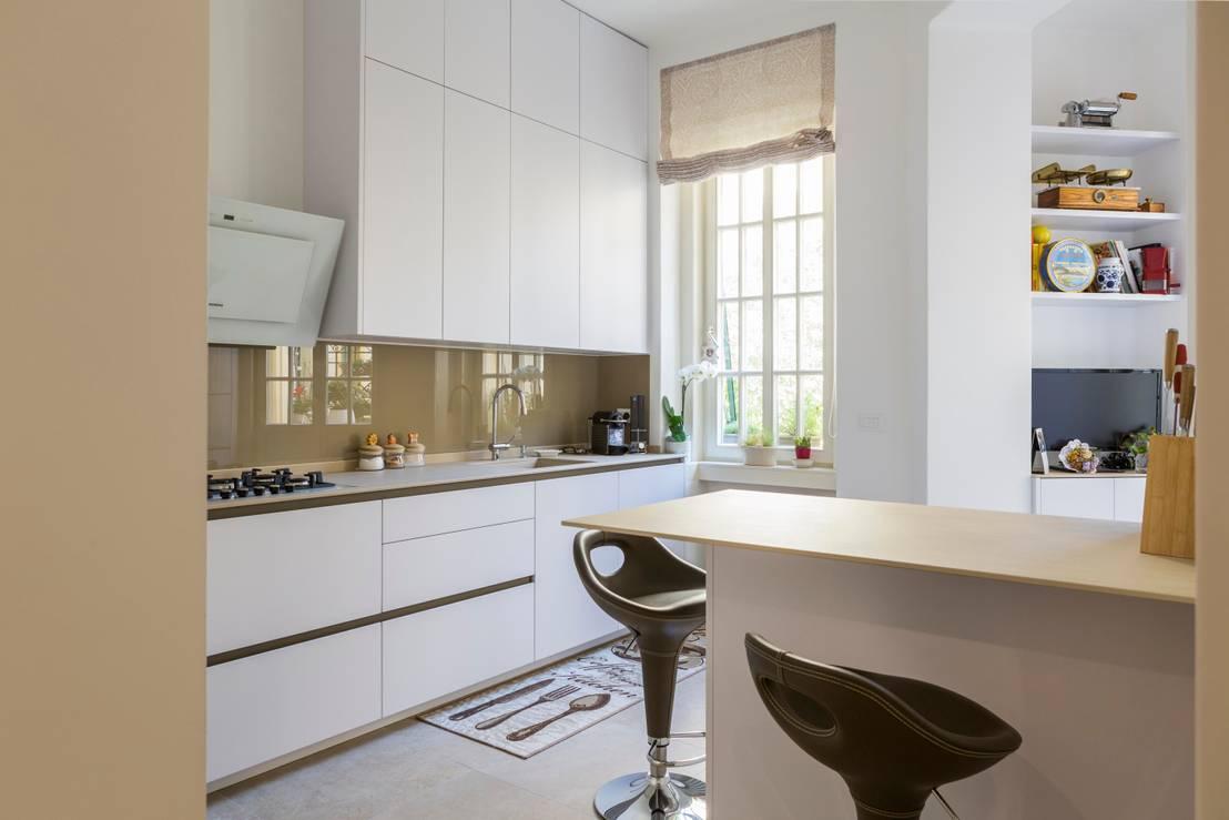 29 foto di straordinarie cucine piccole con penisola for Cocina comedor 3x3