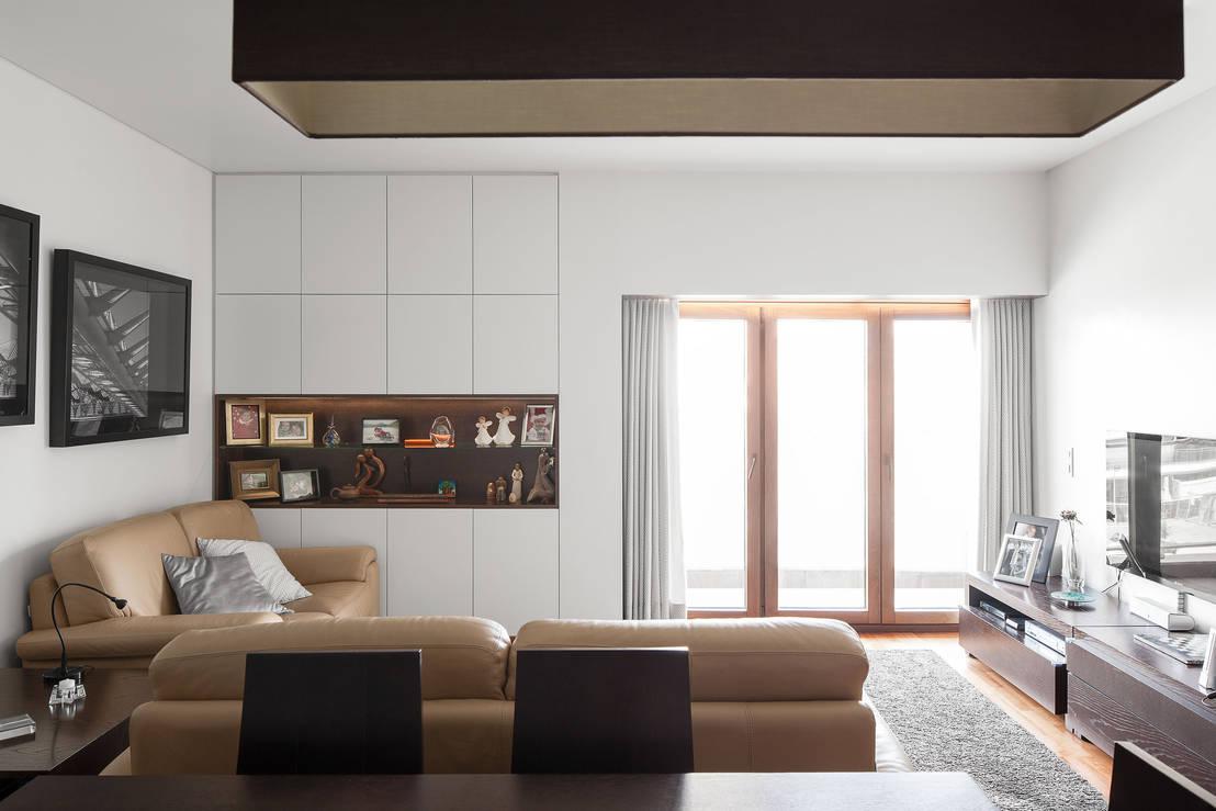 Un appartamento di 100 m organizzato alla perfezione e for Idee di appartamento studio garage