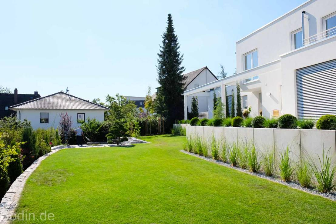 Gartengestaltung Im Bauhausstil Von Bodin Pflanzliche