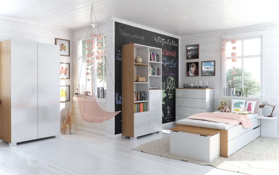 sch ne ideen wie ihr kinderzimmer streichen und gestalten. Black Bedroom Furniture Sets. Home Design Ideas