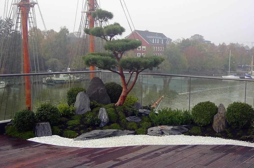 zengarten auf dachterrasse von japan garten kultur homify. Black Bedroom Furniture Sets. Home Design Ideas
