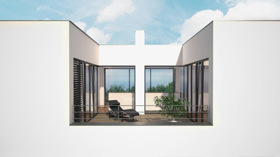 Wohnhaus w por rtw architekten homify - Rtw architekten ...