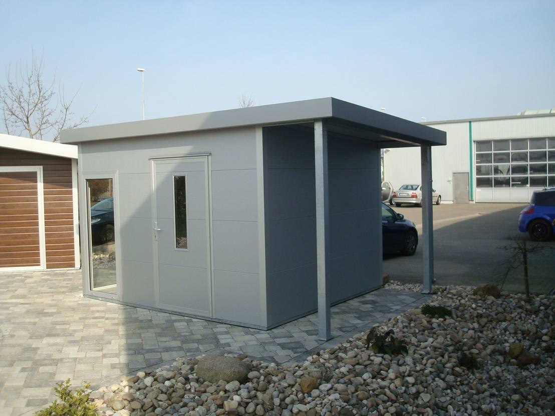 Trapezblech Garage   Nabcd
