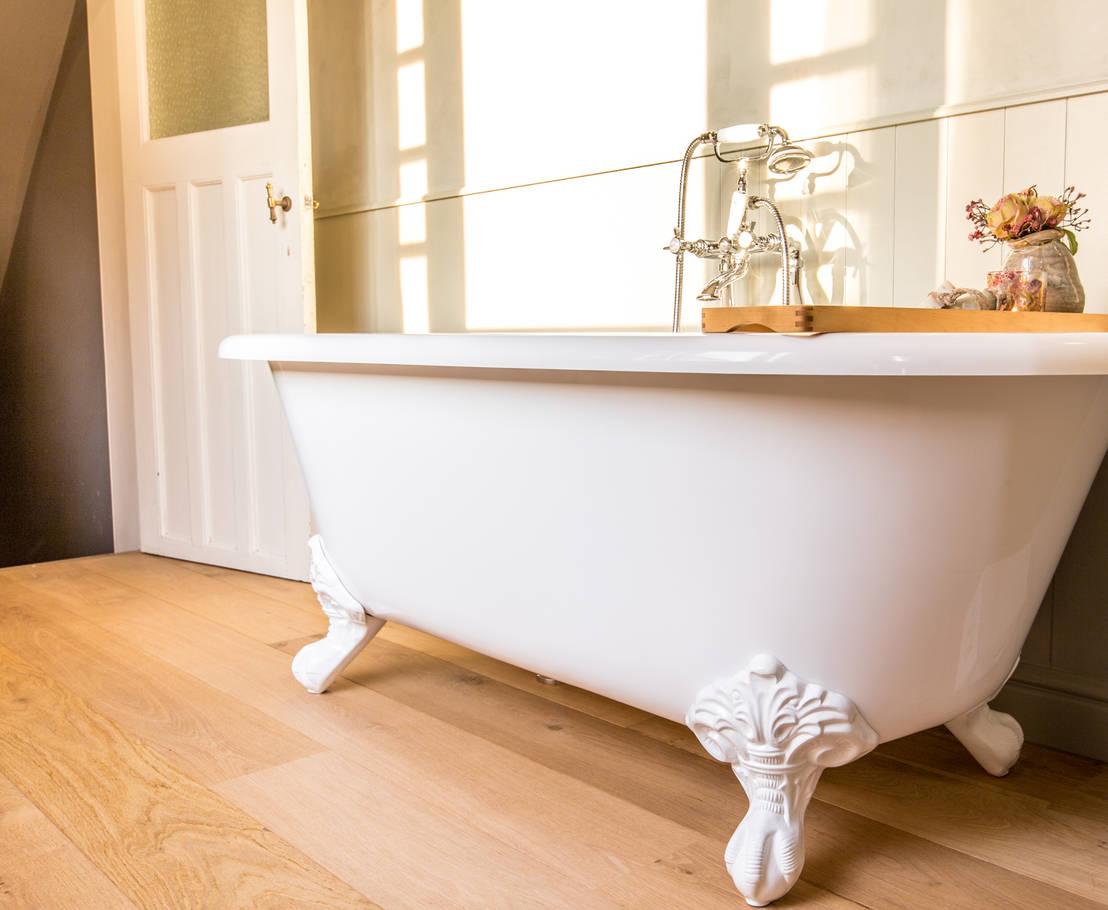 6 tips voor een landelijke badkamer - Welke vloer voor een badkamer ...