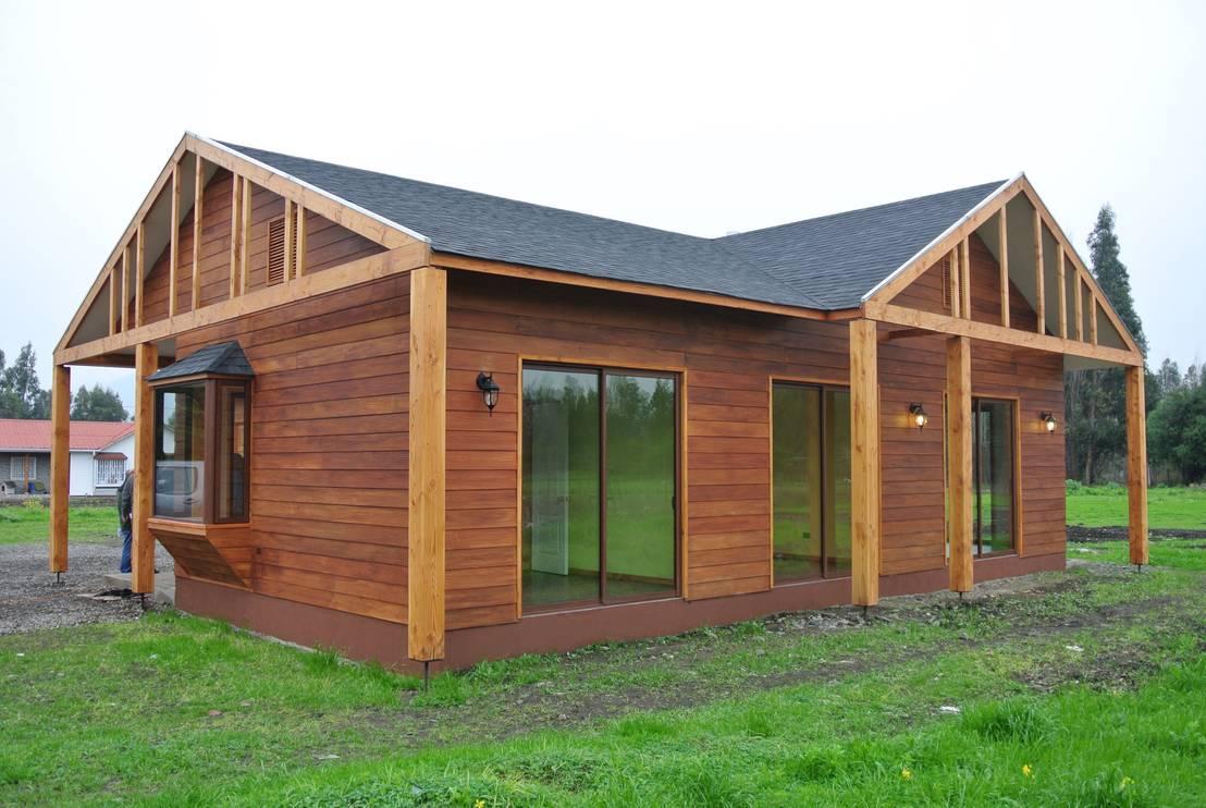 Top 5 una casa de madera chilena preciosa en 140m - Materiales para casas prefabricadas ...