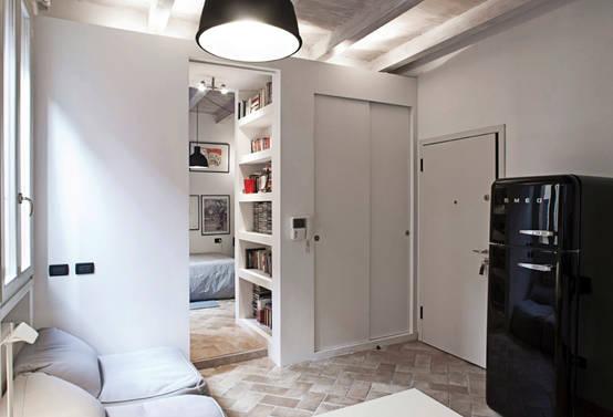 8 appartamenti spettacolari con idee salvaspazio for Arredamento salvaspazio mobili multifunzionali