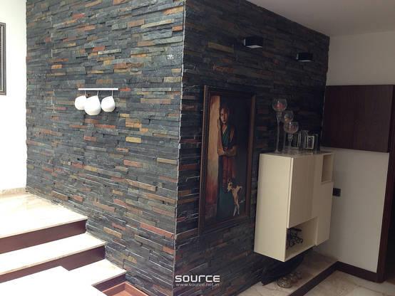 11 Maneras distintas de revestir tus paredes con piedra
