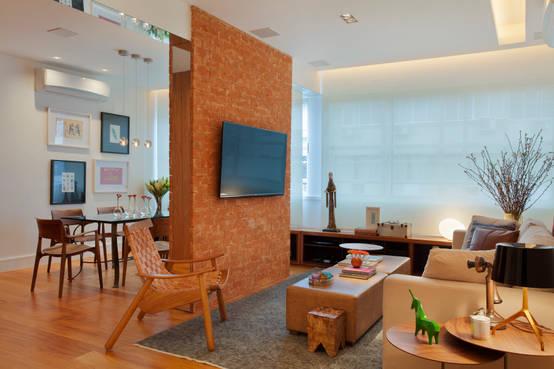 10 ideas de muros para separar ambientes con mucho dise o for Modelar muebles