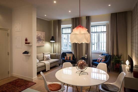 15 idee spettacolari per un soggiorno sala da pranzo con for Piccola sala da pranzo